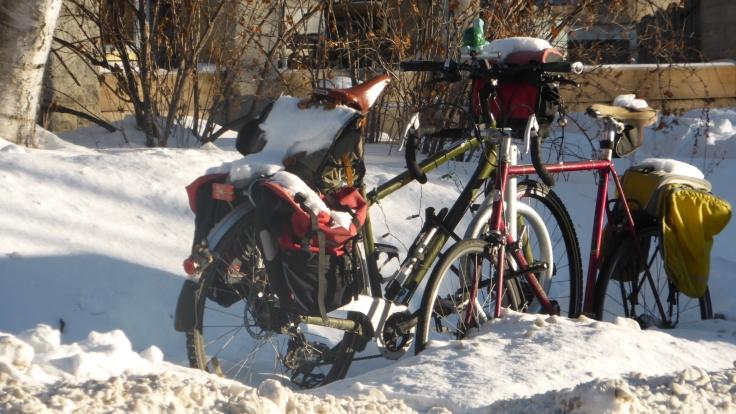 Winter on Two Wheels