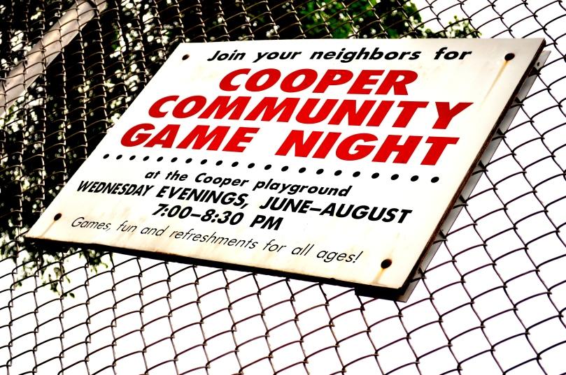 Cooper Community Game Night